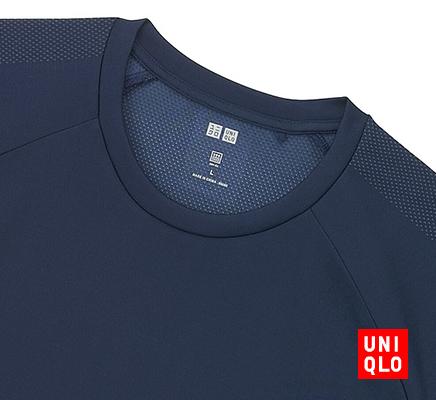 UNIQLO SPORTS - MEN ドライEXクルーネックT(半袖)