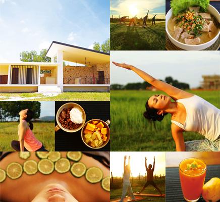 カンボジアで愉しむスパ・ヨガリゾート - プレアガーデン