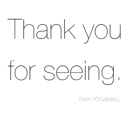 2016年 YOGAMALLをご覧頂き、ありがとうございました。