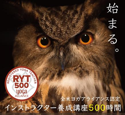 RYT500 - 全米ヨガアライアンス認定・インストラクター養成講座500時間【千葉・ヨガスタジオ - inStyle - にて開催】
