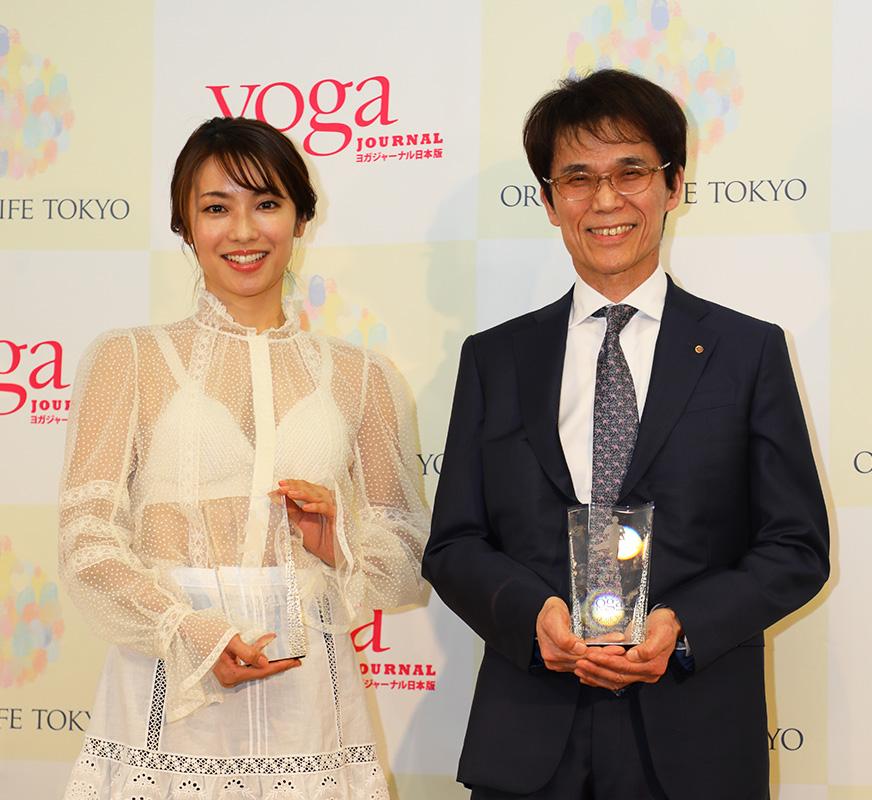 第6回「ヨガジャーナル presents Yoga People Award 2019」授賞式